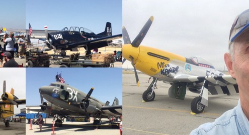 Photos from planes of fame air museum airshow 2015