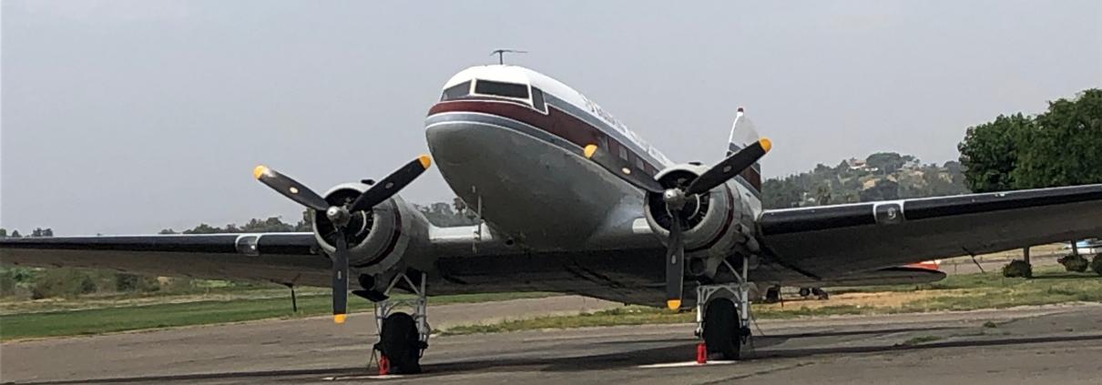 DC3 airplane
